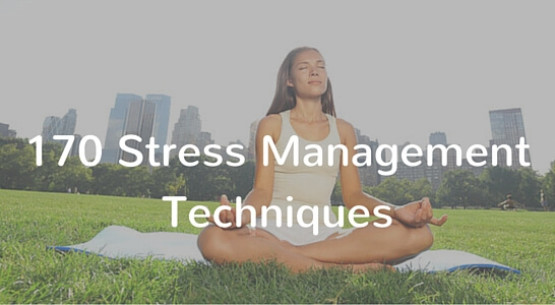 Stress Management Tips List