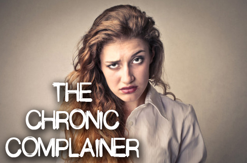 Annoying Coworkers-The Chronic Complainer