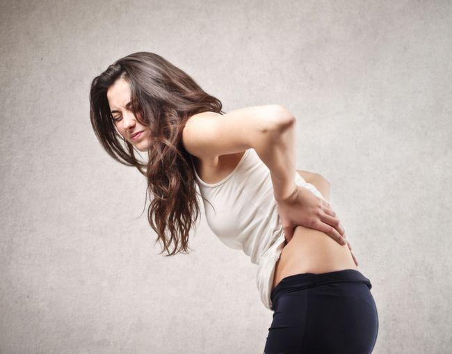 stress back pain
