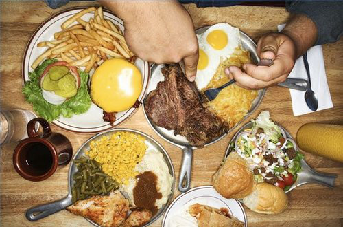 unhealthy stress management overeating