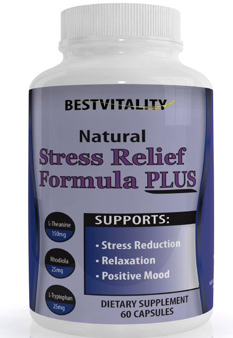 BestVitality Natural Homeopathic Stress Relief Supplement