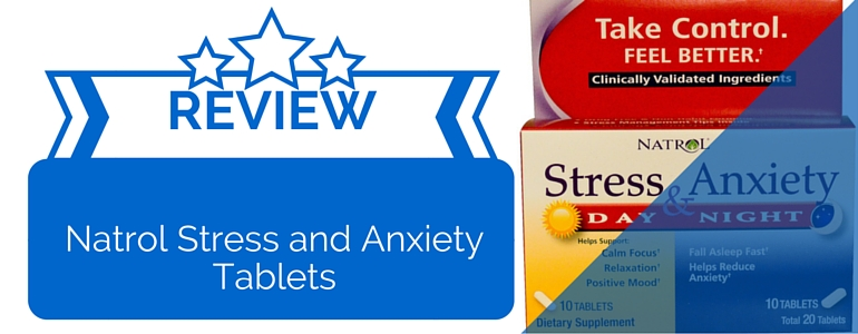 Natrol stress and anxiety day and night