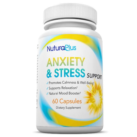 Nutura Plus Anxiety & Stress Support Supplement