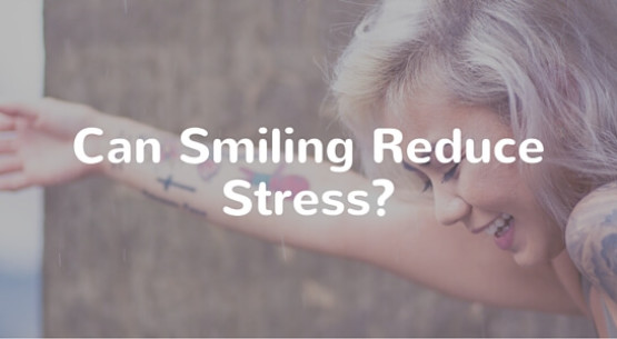 smiling reduces stress