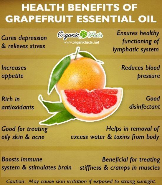 grapefruit therapeutic grade essential oils benefits