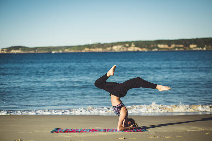 yoga natural stress relief
