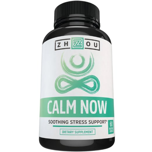 CALM NOW Anxiety Relief and Stress Support Supplement