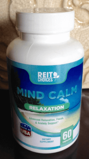 ReitChoices Mind Peace Relaxation Supplement