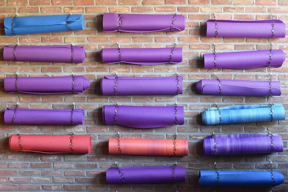 yoga mat colors