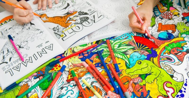 Best Stress Relief Coloring Books | True Stress Management