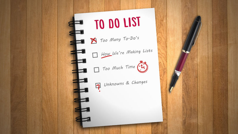 how to complete your to-do list