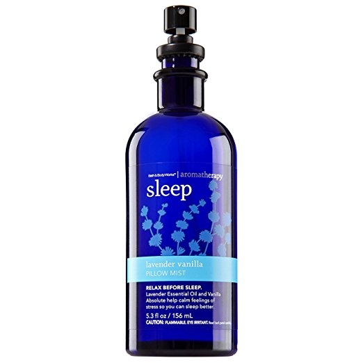 Bath Body Works Aromatherapy Sleep Lavender Vanilla Pillow Mist