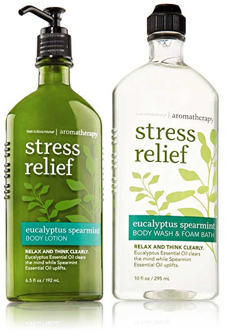 Bath and Body Works Aromatherapy Stress Relief Foam Bath