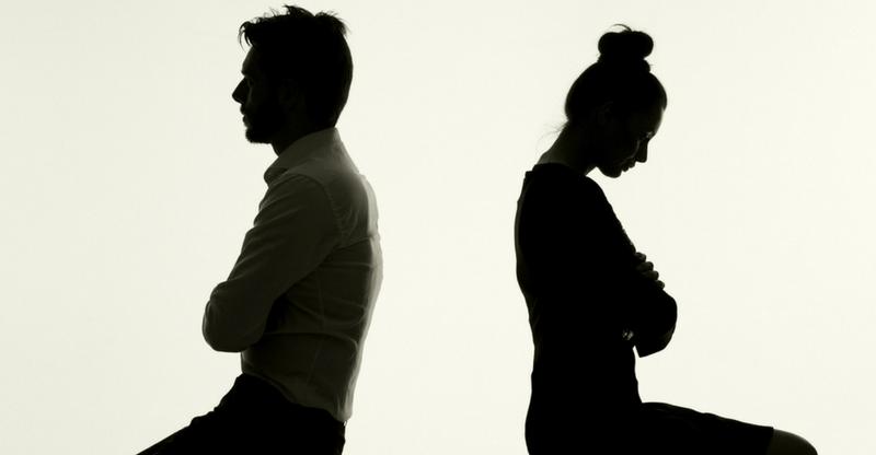 divorce stress