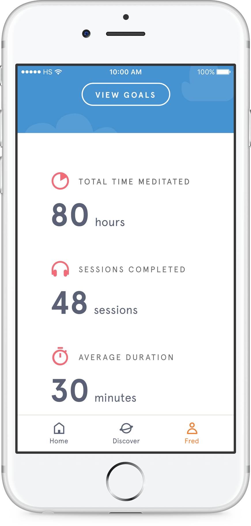 headspace mediation tools app