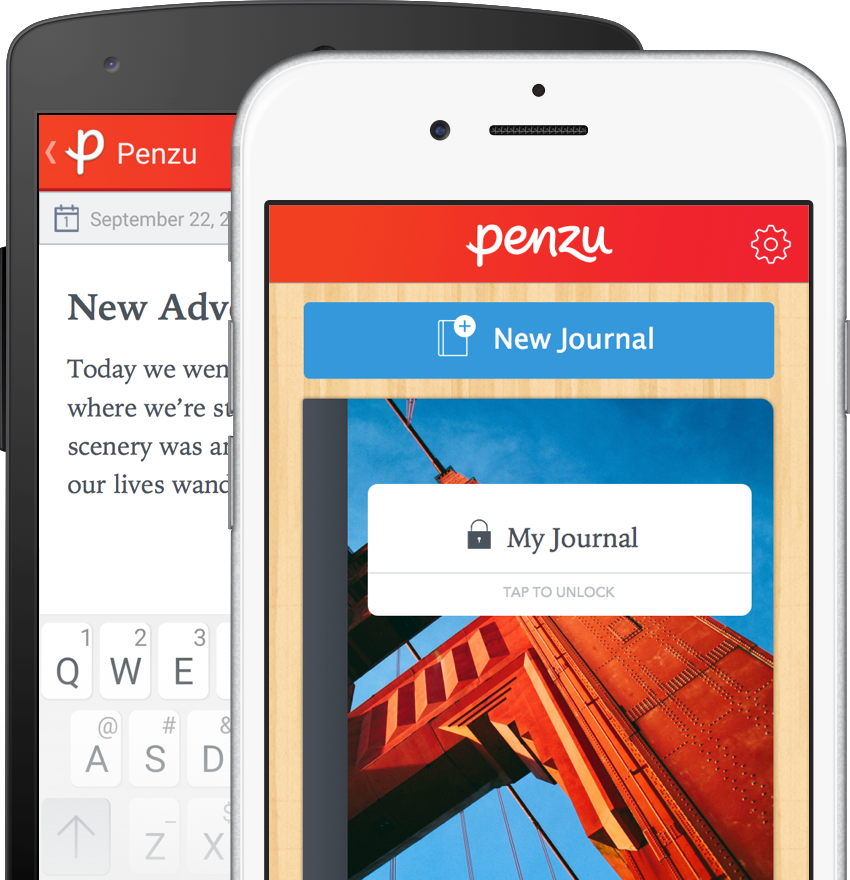 penzu journal app