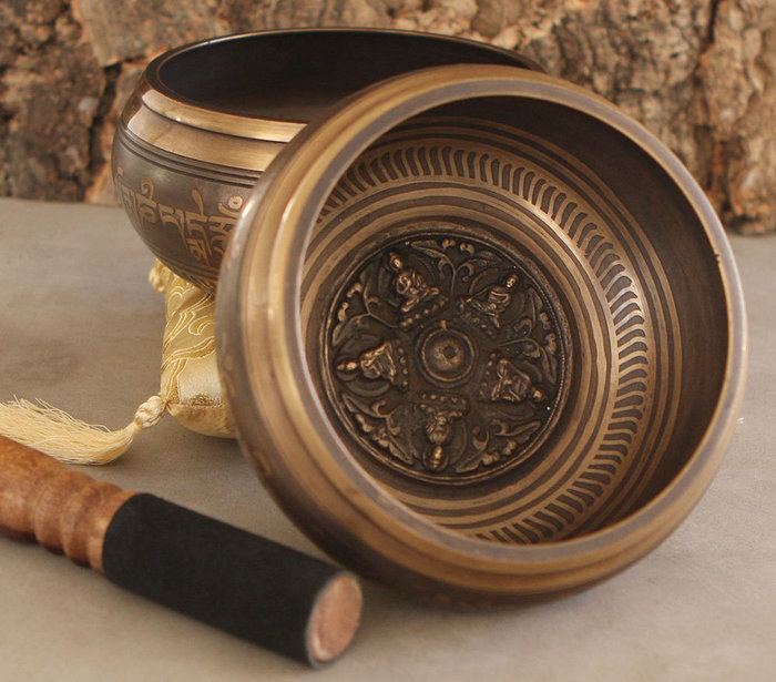Five Dhyani Buddha's Singing Bowl