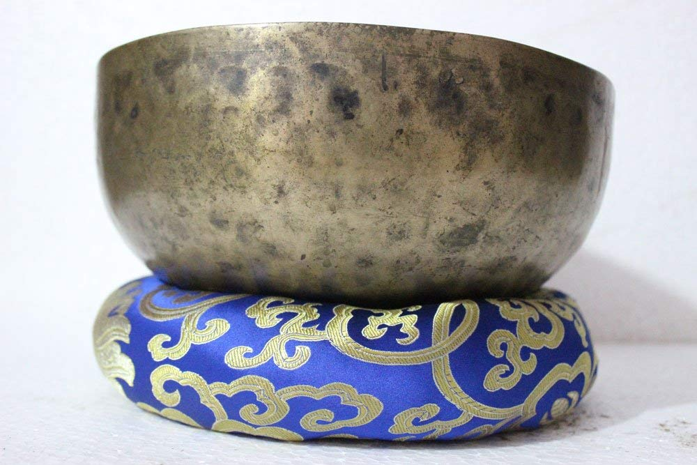 Thamelmart Root And Om Chakra C Note Tibetan Singing Bowl