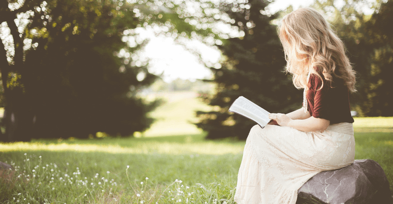 stress relieving hobbies - reading