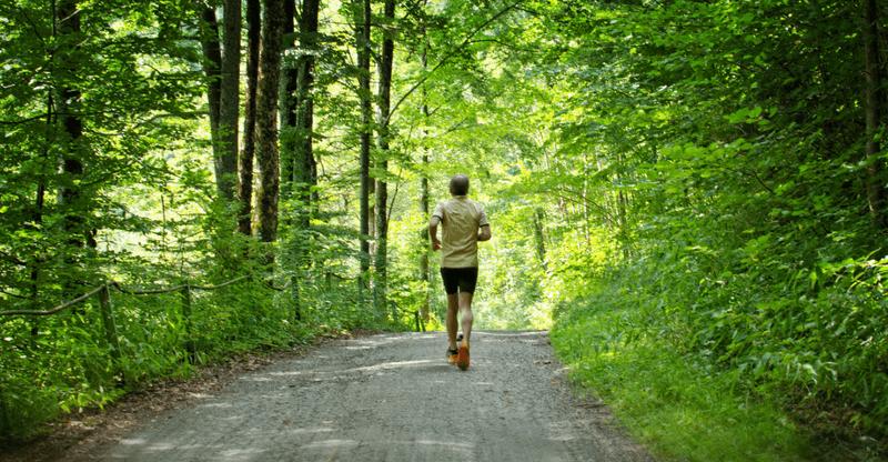 stress relieving hobbies - running