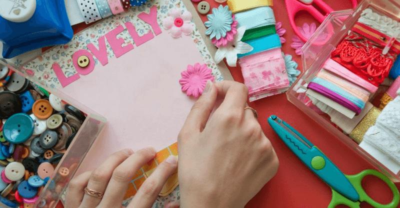 stress relieving hobbies - scrapbooking