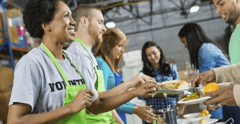 stress relieving hobbies - volunteering
