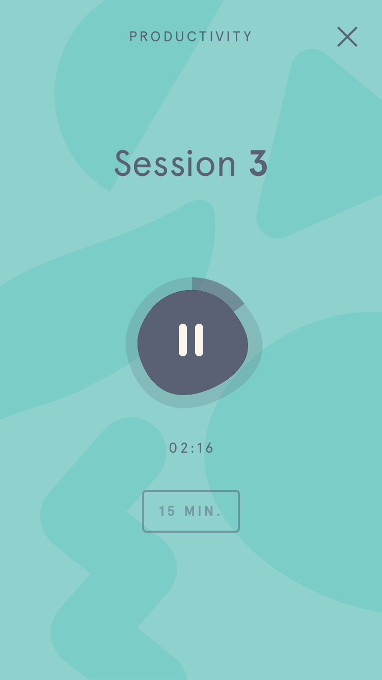Headspace Productivity session 3