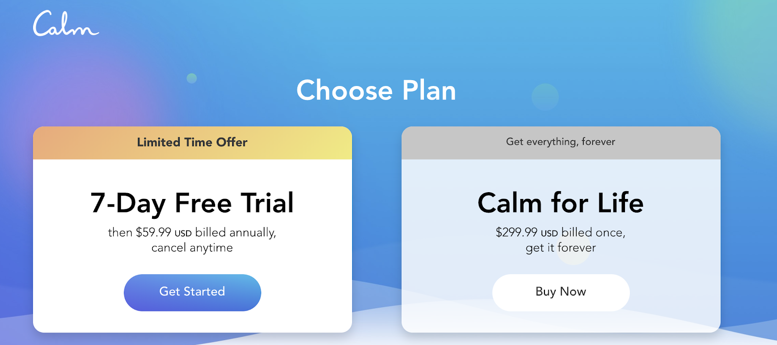 No monthly plan shows on their website