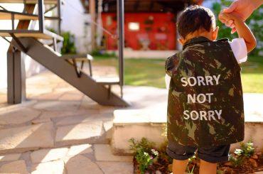 apologizing for everything