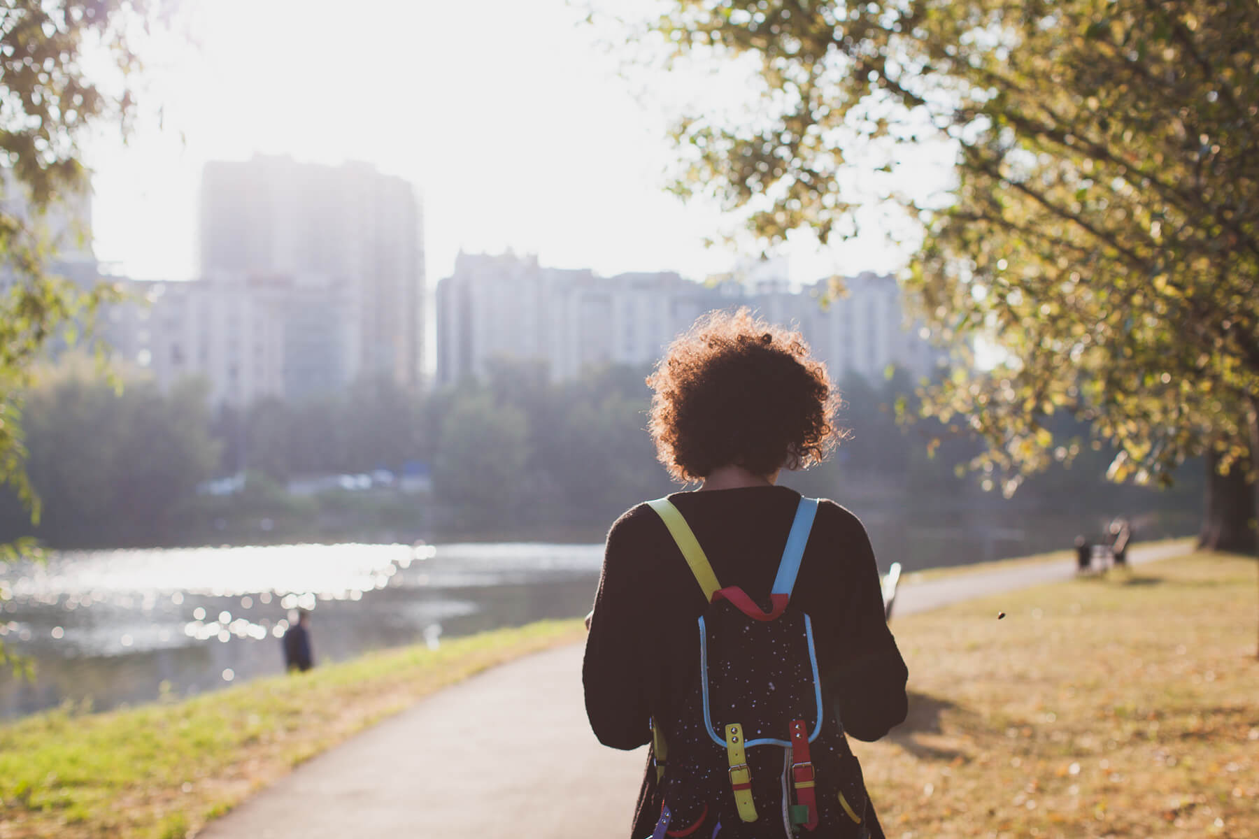 how to start mindful walking