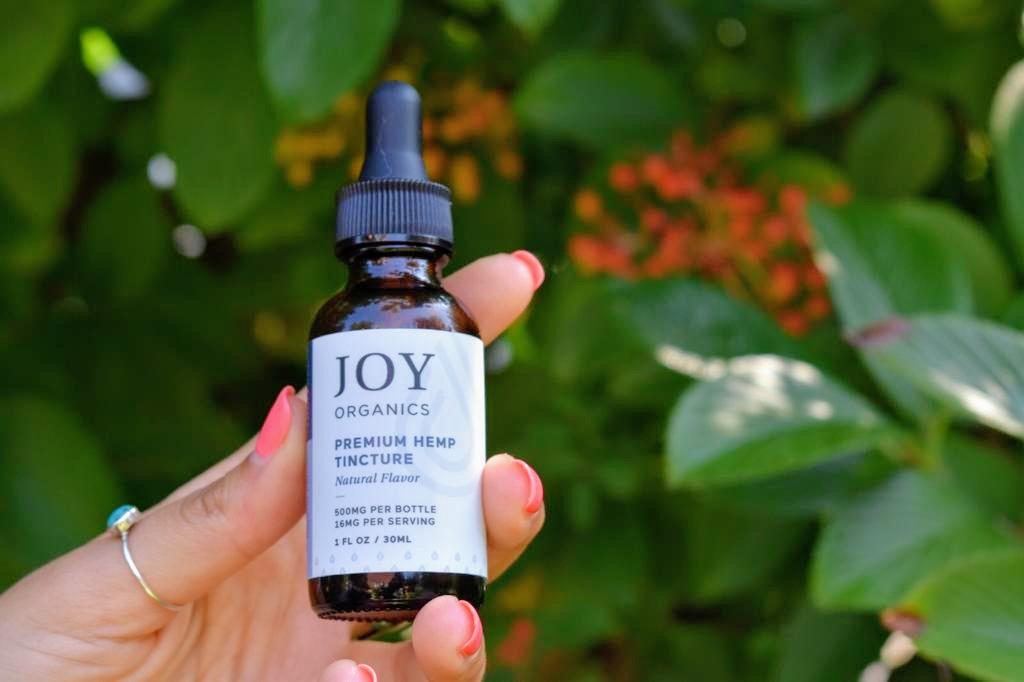 Joy Organics CBD Tincture Review