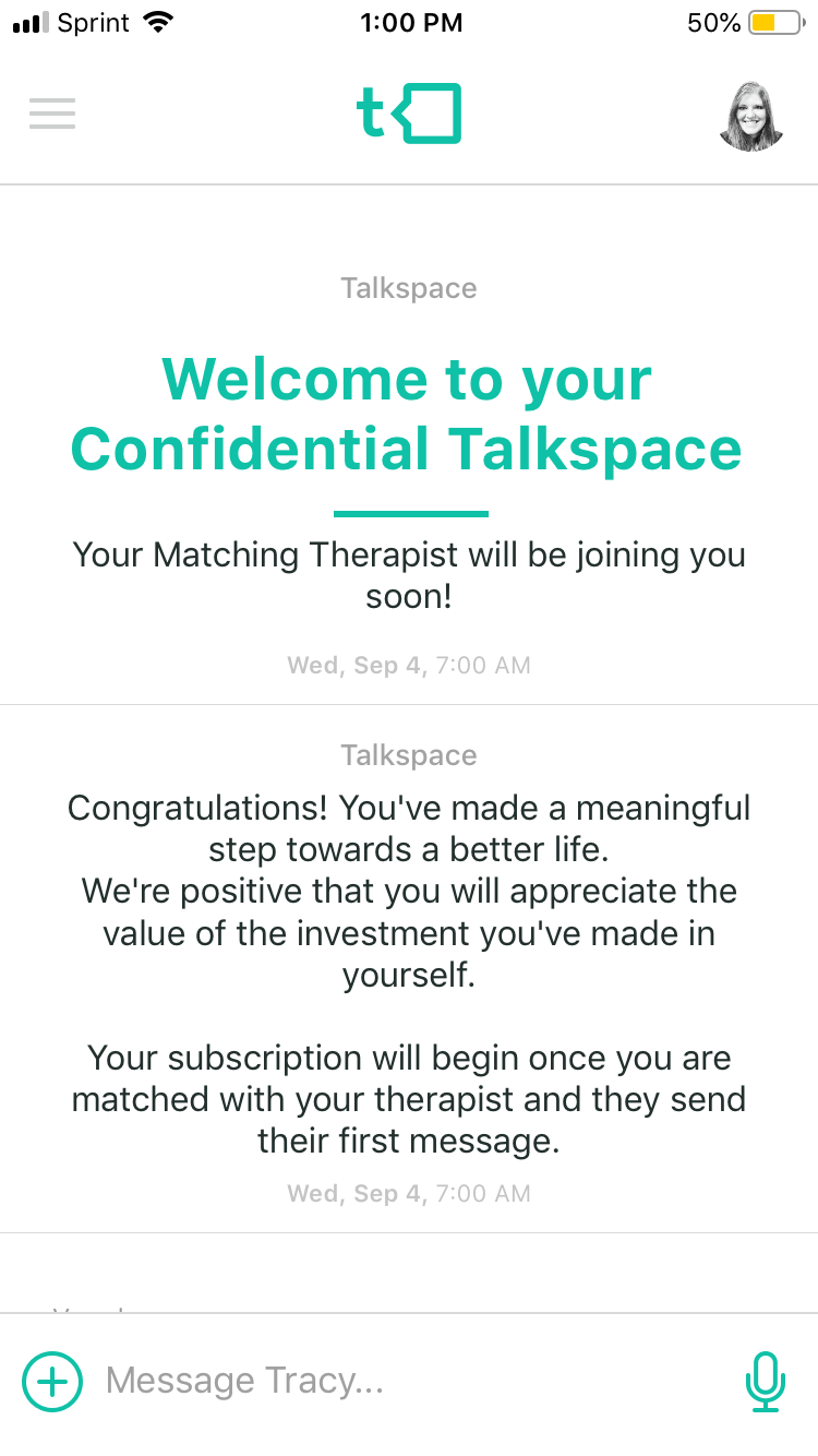 talkspace introduction